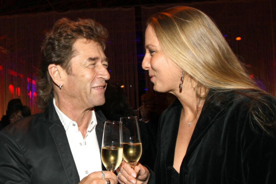 Peter Maffay und Tania Spengler im Jahr 2008.