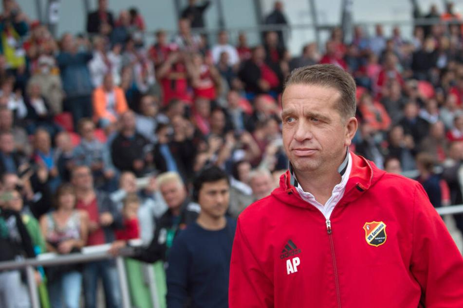 Halberstadts Sportdirektor Andreas Petersen (58) steht im Verdacht, an einer möglichen Manipulation beteiligt gewesen zu sein.