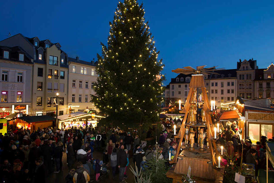 In Plauen kommt nicht nur der Weihnachtsmann, sondern mittwochs auch das Sandmännchen.