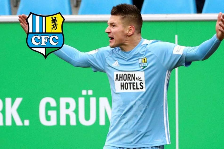 """CFC-Torjäger Frahn fordert Abwehr: """"Können nicht jede Woche zwei, drei Tore schießen!"""""""