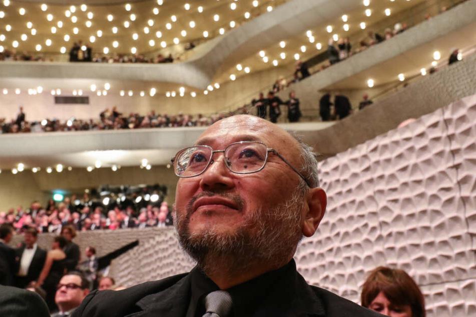 Der Akustiker Yasuhisa Toyota bei der Eröffnung der Elbphilharmonie. (Archivfoto)