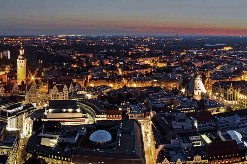 Fast 2,9 Millionen Menschen übernachteten im vergangenen Jahr in Leipzig.