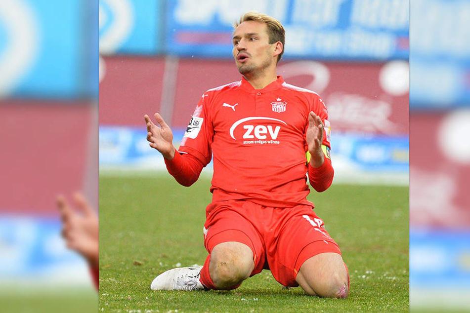 Toni Wachsmuth will mit dem FSV beim Derby nicht in die Knie gehen.