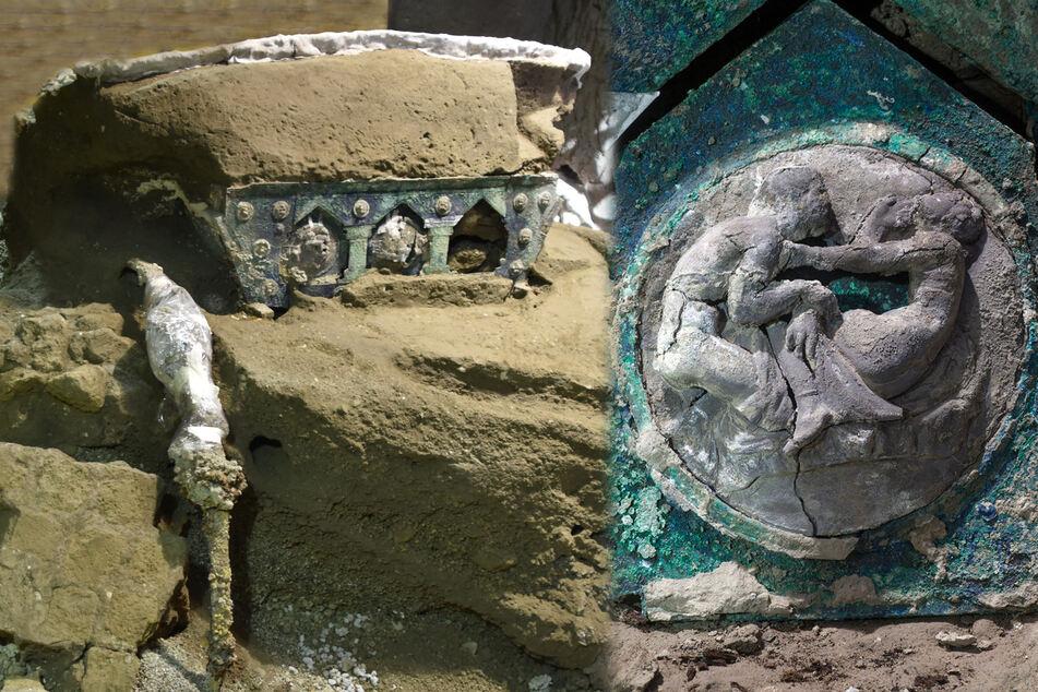 Porno-Fund in Pompeji: Archäologen entdecken ungewöhnlichen Triumphwagen