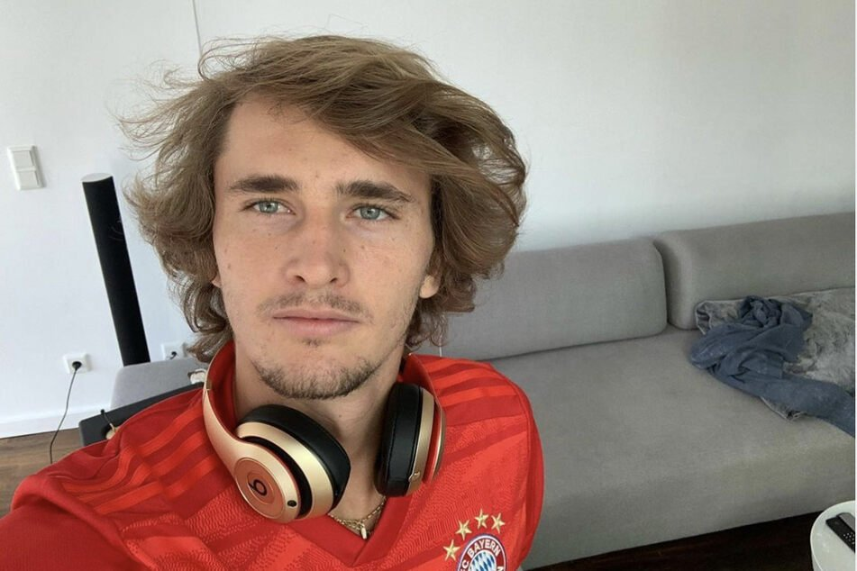 Tennis-Star Alexander Zverev (23) ist bekennender Fan des FC Bayern München.