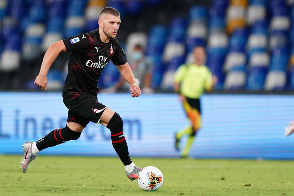Ante Rebic vom AC Mailand in Aktion.