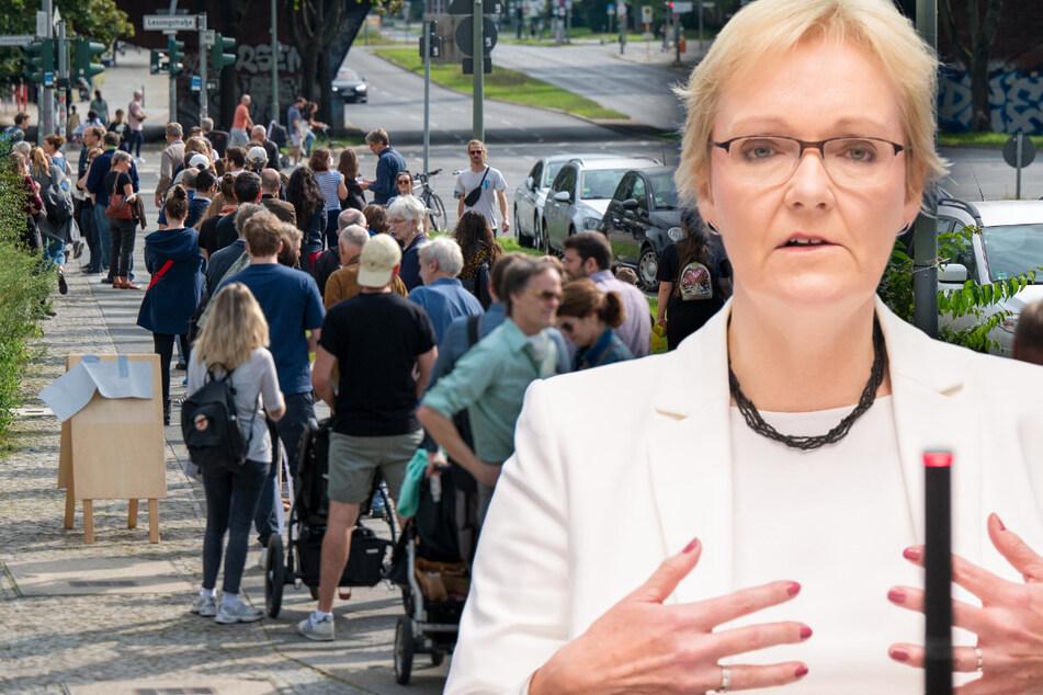 Landeswahlleiterin Petra Michaelis hatte nach dem peinlichen Wahl-Chaos in Berlin um ihre Abberufung gebeten.