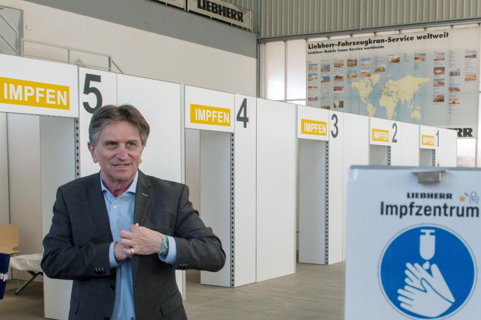 Gesundheitsminister Manne Lucha (Grüne).