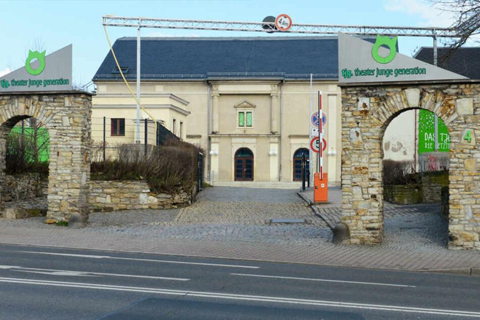 Als das Theater Junge Generation noch in Briesnitz war, hatte Leberti hier eine prägende Zeit.