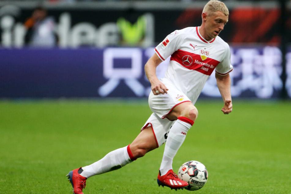 Am Ball: VfB-Rechtsverteidiger Andreas Beck.