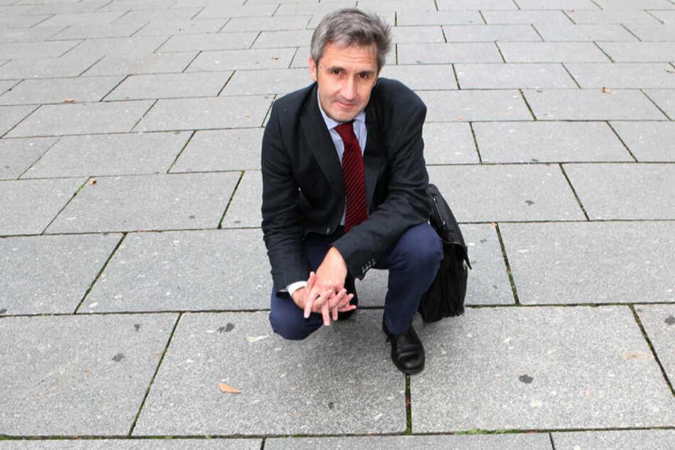 """Frank Richter wurde zuletzt bekannt durch seine """"Moderation"""" des Dialoges zwischen PEGIDA und der Bürgeschaft."""