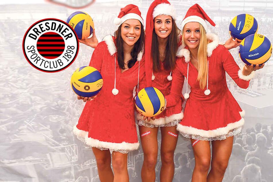 Die Mädels vom Dresdner SC wollen den TV-Rekord!