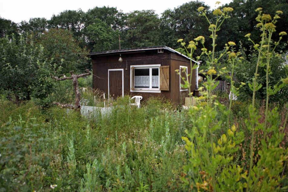 In einer Gartenhütte brachte er den Mitbewohner um und drohte auch dem zweiten Bewohner noch. (Symbolbild)