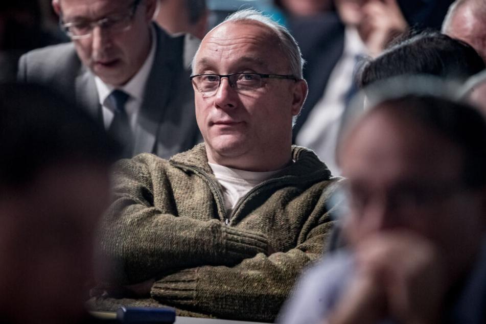Dresdner AfD-Bundestagsabgeordnete Jens Maier,