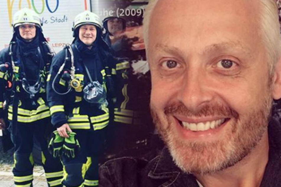 """Mitten beim Dreh! Feuerwehr-Einsatz bei Ross Antonys """"Schlagerwelt"""""""