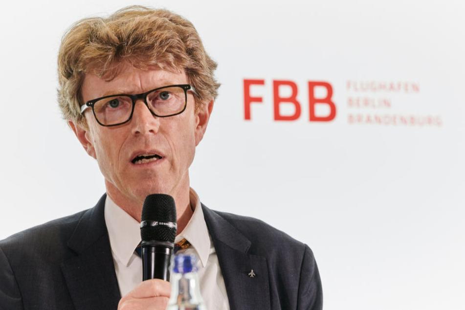Engelbert Lütke Daldrup, BER-Chef, unter Feuer: nun will der Verkehrsminister Klarheit.