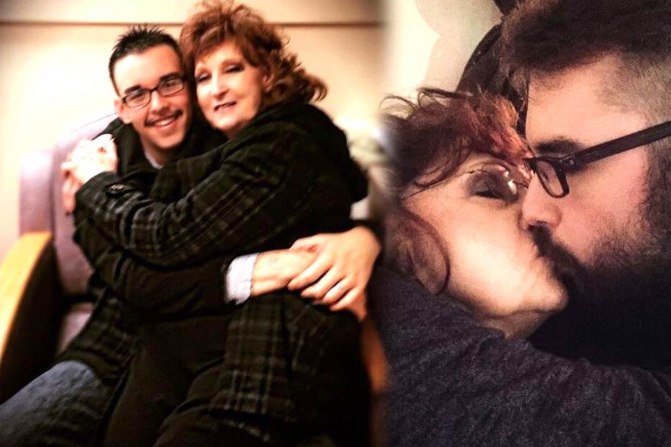 Gary Hardwick (21) und Almeda Hardwick (74) führen seit vier Jahren eine erfüllte Ehe.
