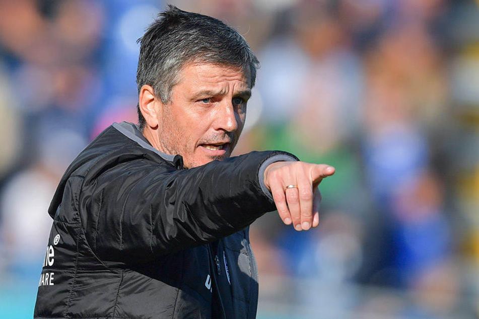 Mit Jens Härtel hatte der FCM den Aufstieg in die Zweite Bundesliga geschafft,
