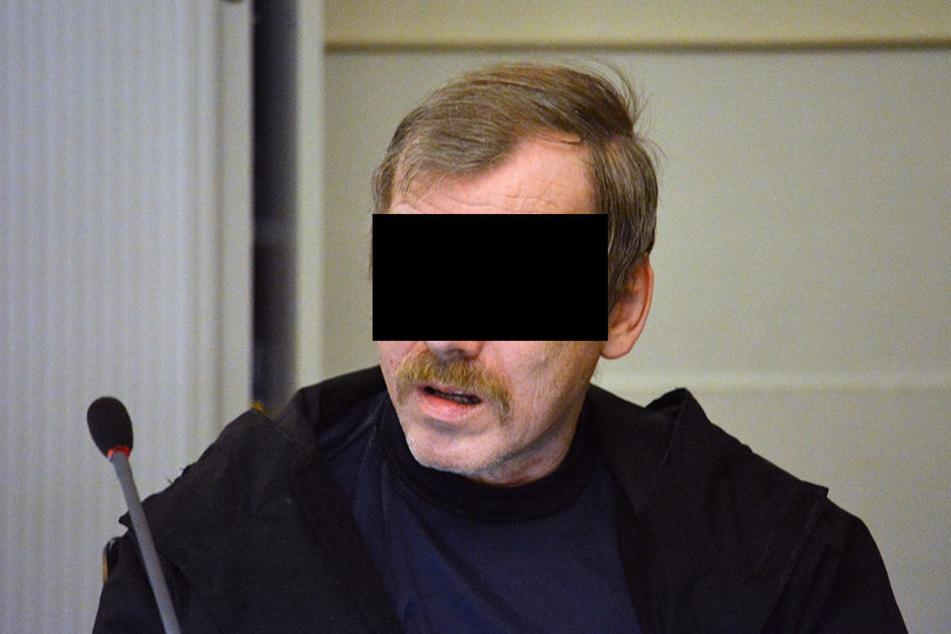 Helmut St. (61) äußert sich nicht nur Tat. Doch der genetische Fingerabdruck spricht gegen ihn.