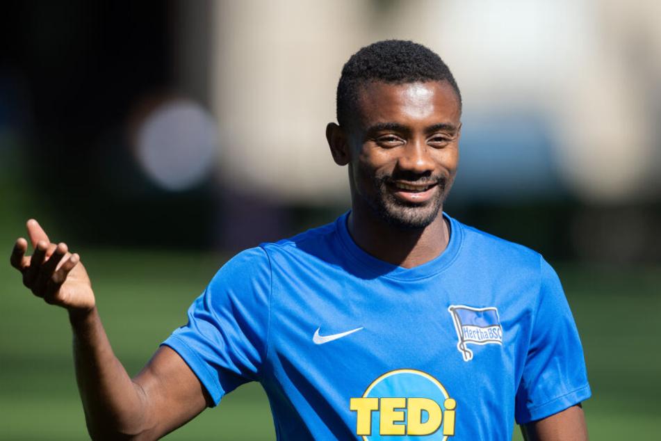 Salomon Kalou kam für Hertha BSC nicht zum Einsatz.
