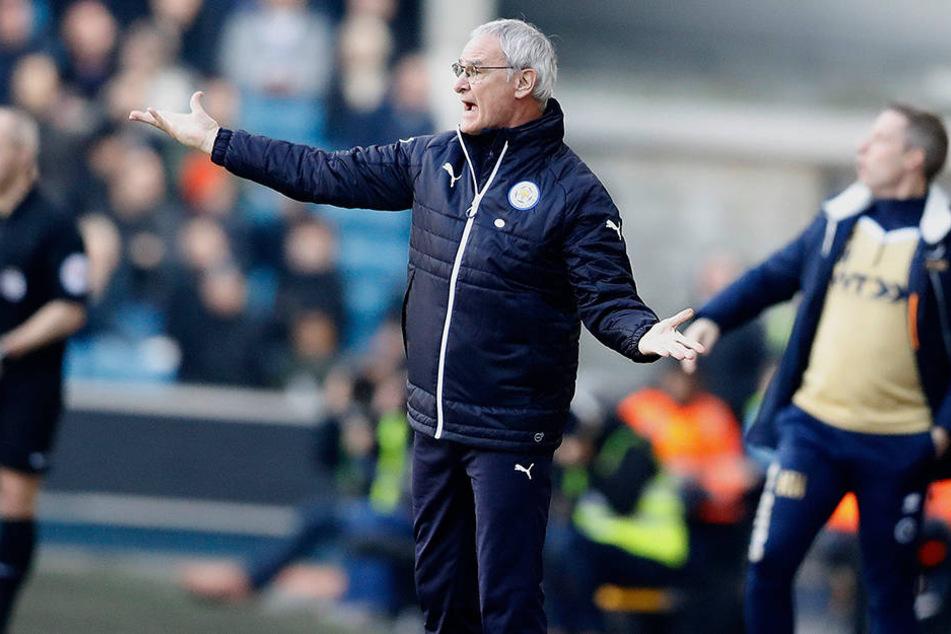 Claudio Ranieri konnte die sportliche Talfahrt der letzten Monate nicht stoppen.