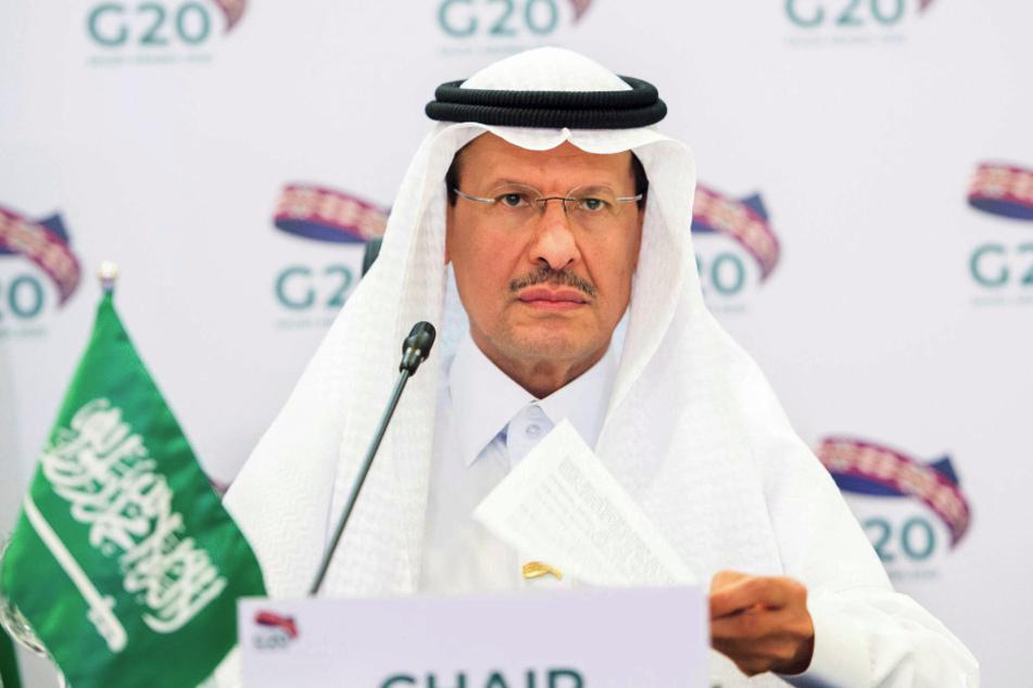 Prinz Abdulaziz bin Salman Al Saud , Energieminister von Saudi-Arabien.