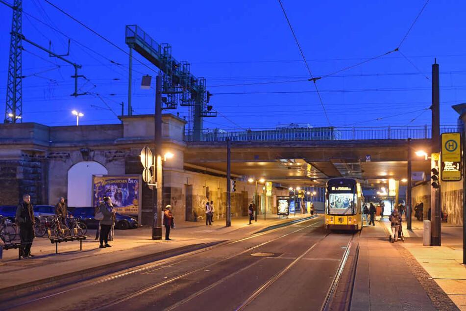 Die Attacke ereignete sich doch zwischen Bahnhof Mitte und Schweriner Straße.