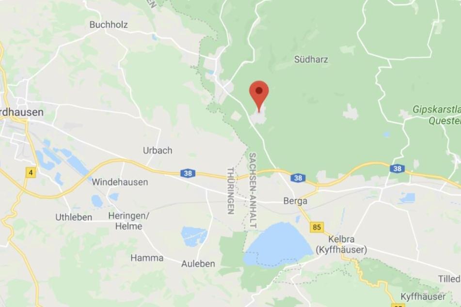 Das kuriose Unglück ereignete sich in Uftrungen an der Grenze zu Thüringen.