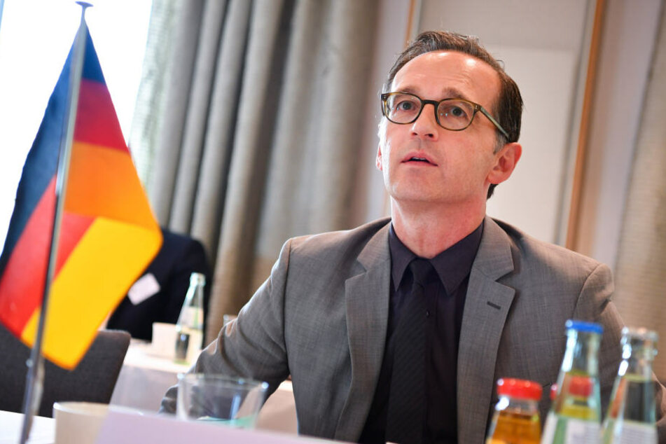 Bundesjustizminister Heiko Maas (50, SPD) spricht am Montagnachmittag in Dresden über Hatespeech im Internet.