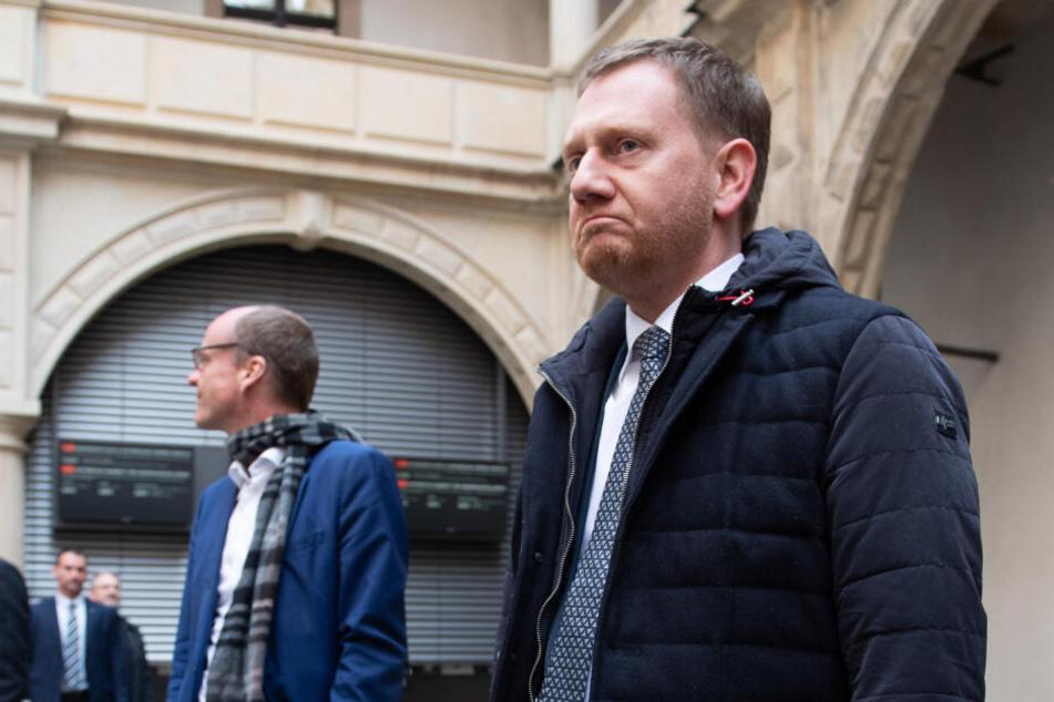 Ministerpräsident Michael Kretschmer (44, CDU) zeigte sich nach den Ereignissen am Montag schockiert.