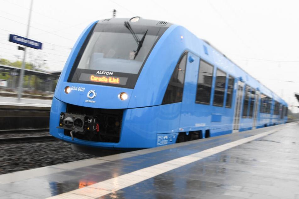 Zug der Zukunft mit Wasserstoff? Alstom testet in Düren