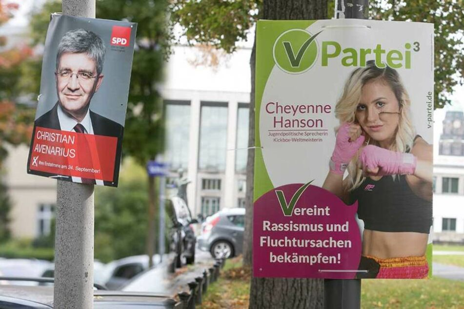 Jetzt werden die Wahlplakate für die Parteien richtig teuer