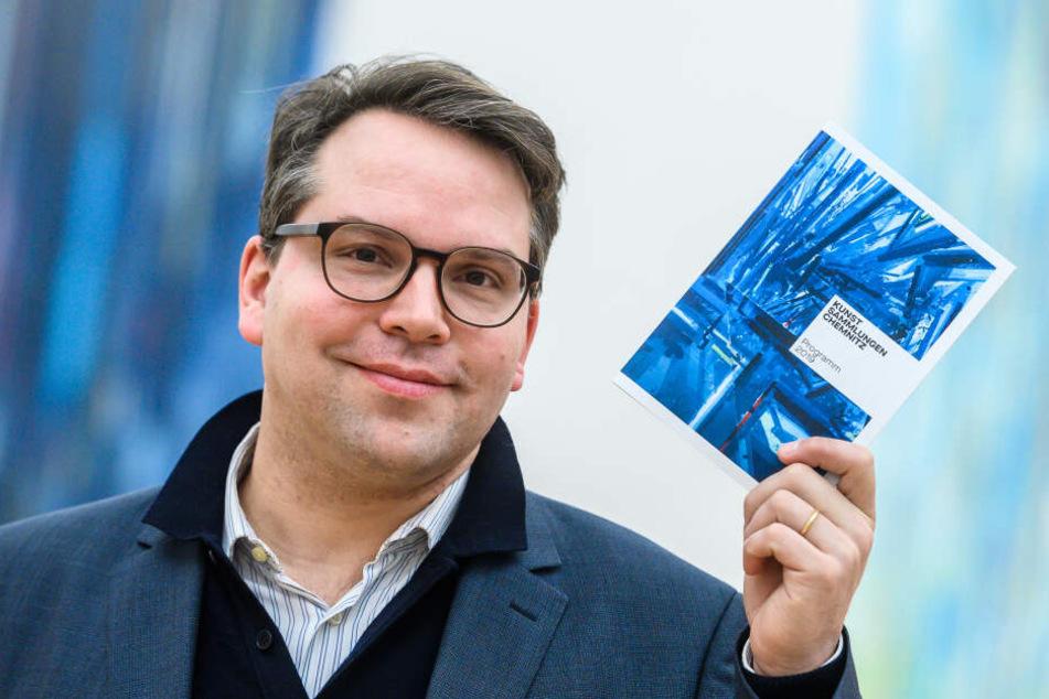 Generaldirektor Frédéric Bußmann freut sich über das neue Angebot in Chemnitz.