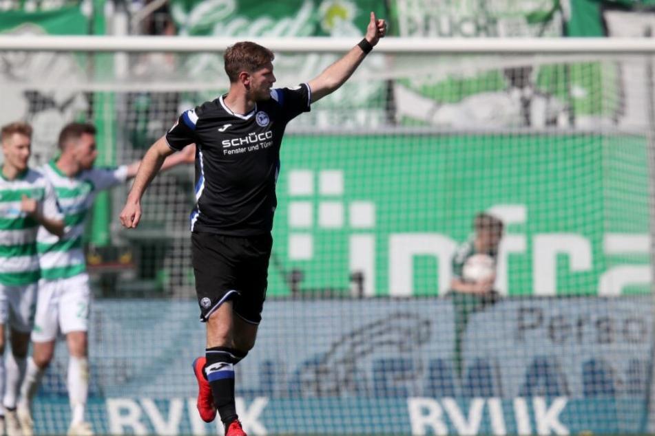 Rekord-Stürmer Fabian Klos bleibt dem DSC erhalten.