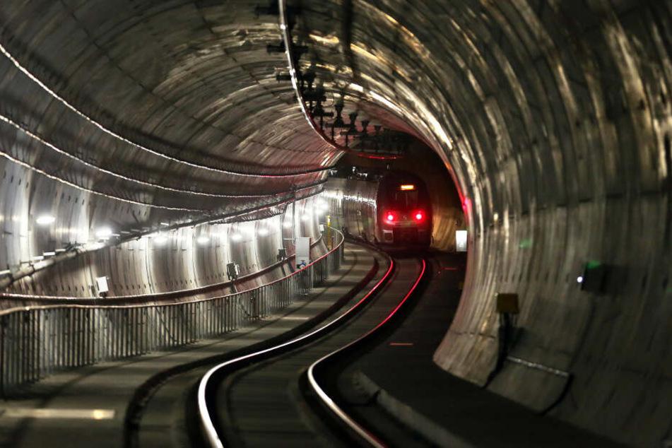 Im Citytunnel in Leipzig wurde eine tote Person entdeckt.