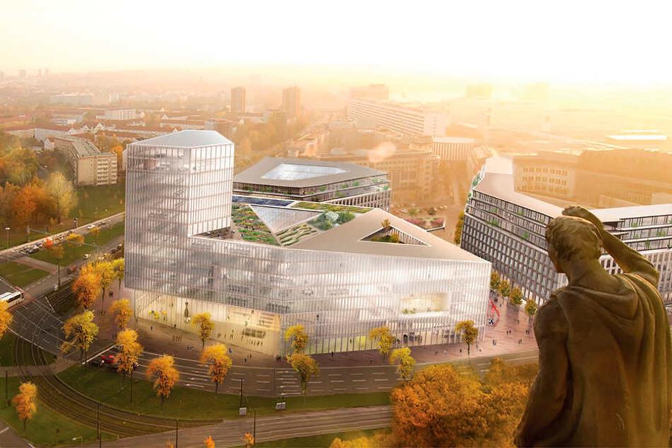 Schau an! So hoch soll der neue Rathausturm werden