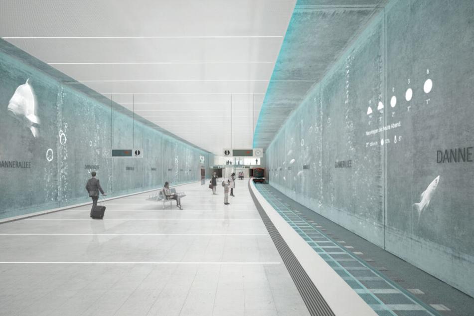"""Das Architekturbüro """"netzwerkarchitekten"""" aus Darmstadt entwirft die neuen Haltestellen in Hamburg."""