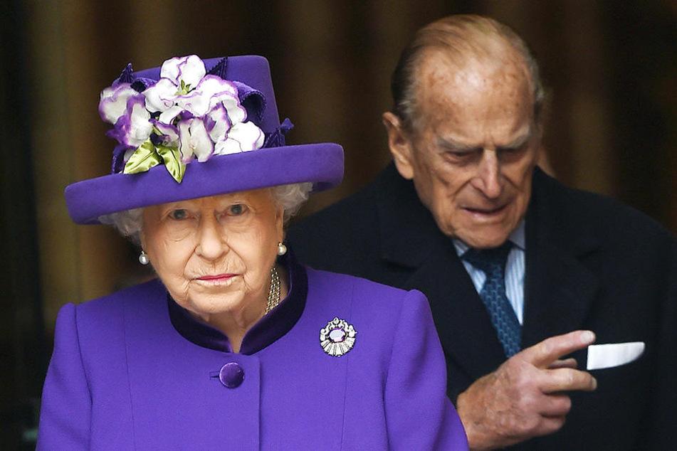 Die britische Königin Elizabeth II. und ihr Ehemann Prinz Philip.