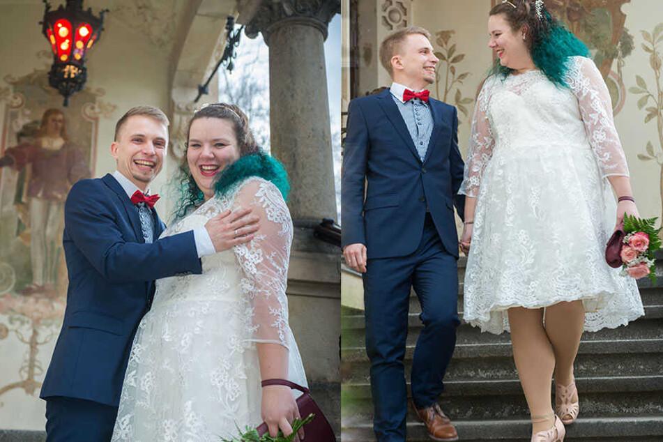 Sabrina Lange (24) und Georg Göttermann (27) haben den 23. Dezember als Hochzeitstermin für sich auserkoren.