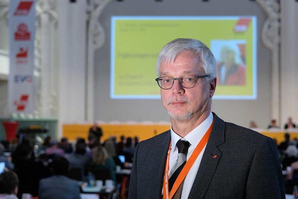 DGB-Boss Markus Schlimbach.