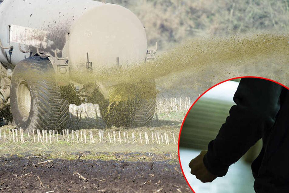 Der Traktor-Fahrer ging unvermittelt auf den Freund der 24-Jährigen los! (Symbolbild)