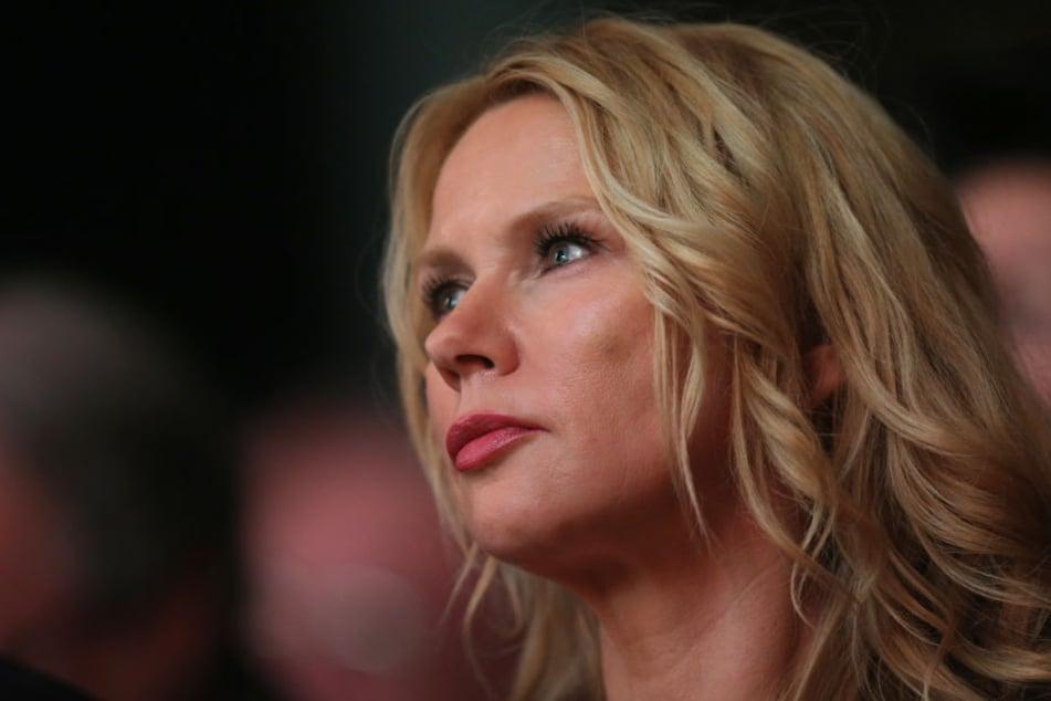 Veronica Ferres wurde bei einem Stadtbummel von Polizisten angesprochen.