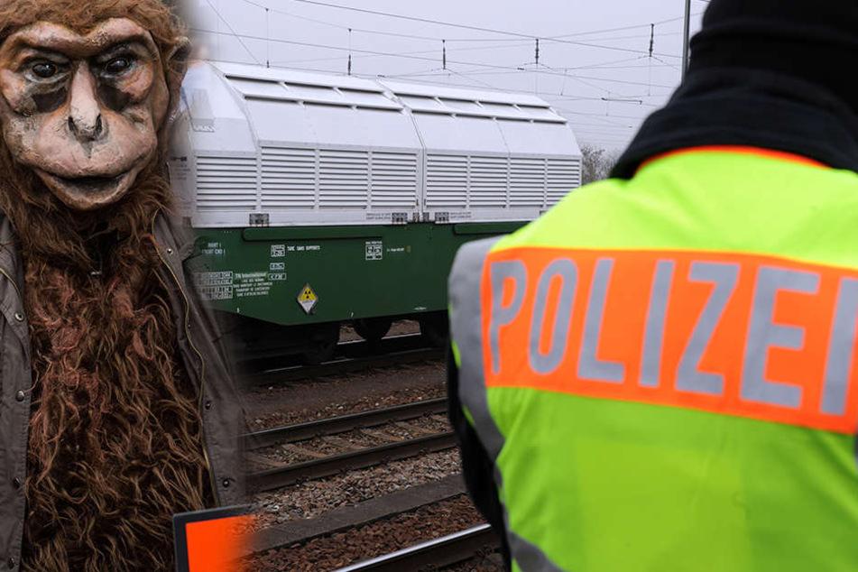 Zwei Kölner Fußball-Fans hatten sich kostümiert auf den Weg nach Leipzig gemacht und wurden festgenommen (Symbolbild).