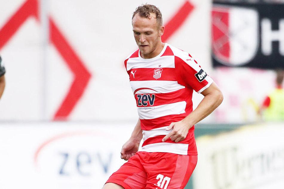 Klarer Außenseiter bei Spitzenreiter VfL Osnabrück, aber FSV-Mittelfeldmann Julius Reinhardt rechnet sich mit seinen Zwickauern am Sonnabend dennoch Chancen aus.