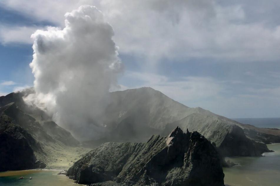 Der Vulkan auf White Island bricht aus. Aus der Touristeninsel ist nach dem Ausbruch von Neuseelands gefährlichstem Vulkan eine Todeszone geworden.