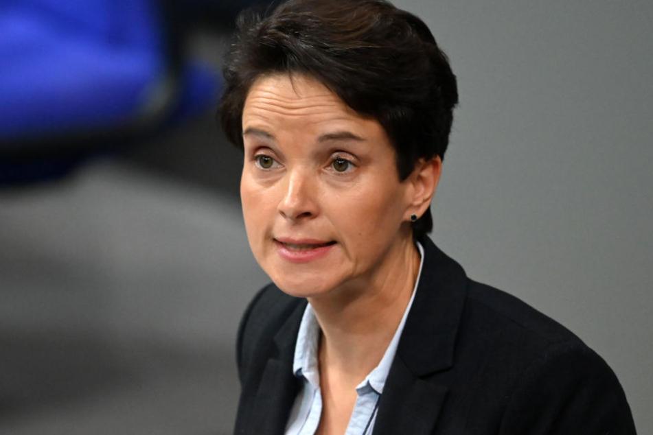 """Frauke Petry plant mit der """"Blauen Partei"""" bei der Landtagswahl erfolgreich zu sein."""