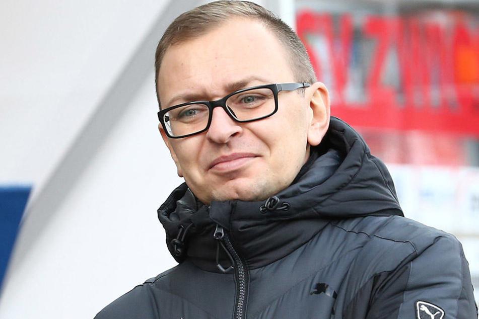 Zwickaus Pressesprecher Daniel Sacher