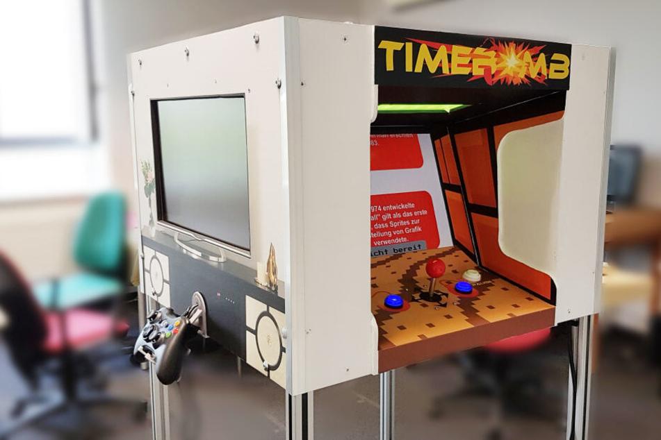 Abgefahrene Spielekonsole aus Dresden soll Multimediapreis gewinnen