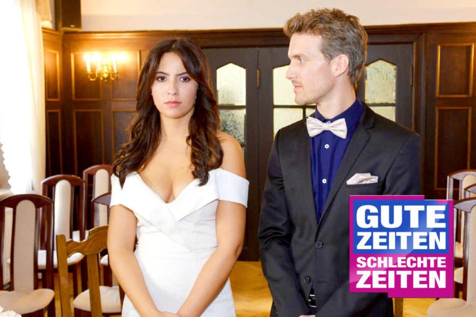 GZSZ-Hochzeit bei Felix und Laura: Doch ein Detail wirft Fragen auf!