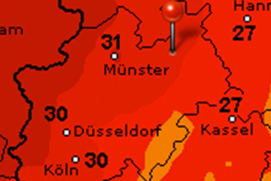 Spitzentemperaturen von über 30 Grad sind am Wochenende keine Seltenheit.